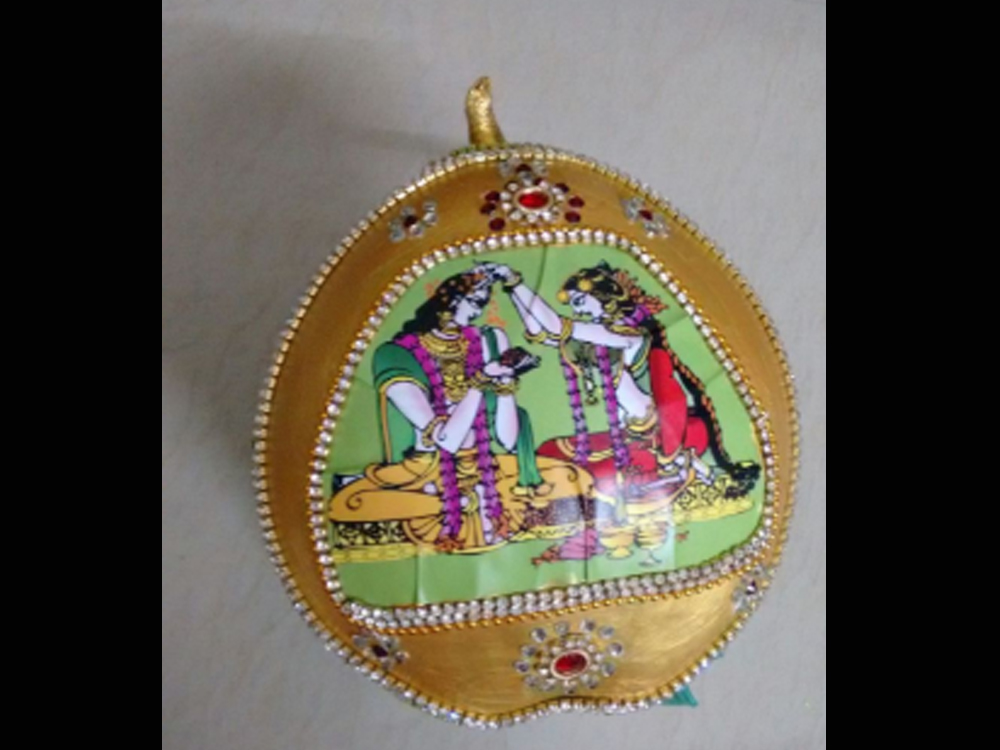 DECORATED COCONUT FOR MARRIAGE