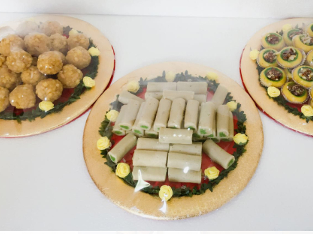 sweets trays